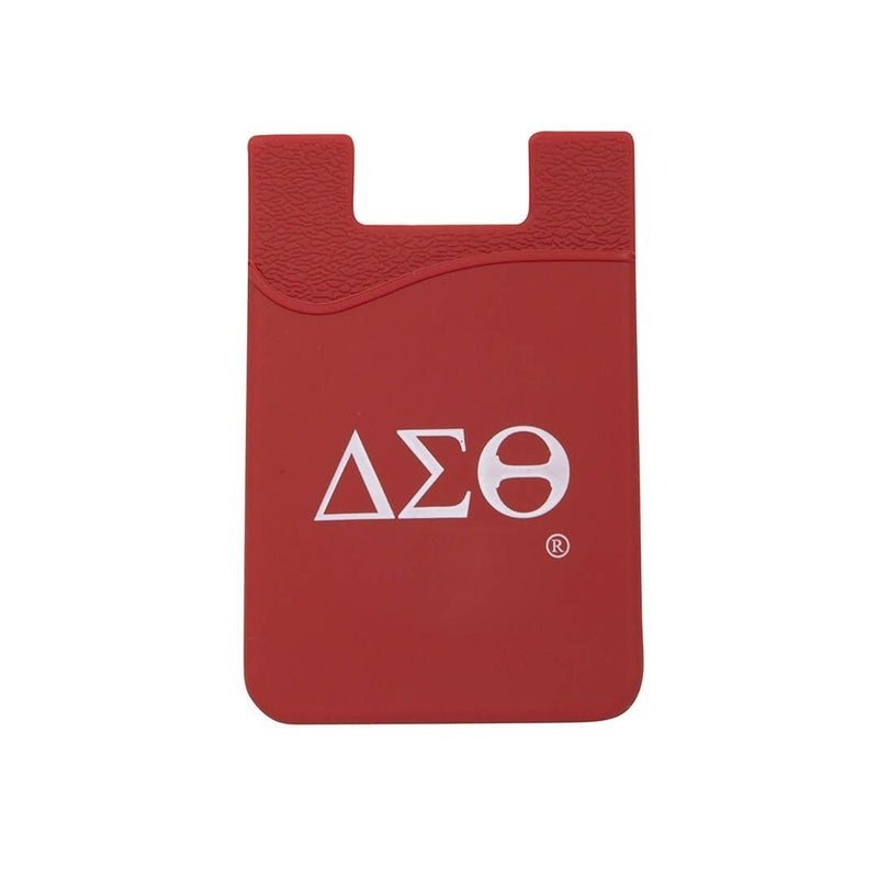 Silicone Card Holder - Delta Sigma Theta®️ -Greek_Paraphernalia - M3 Greek
