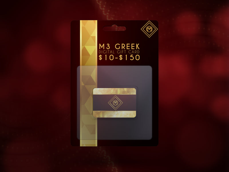 Digital Gift Card -Greek_Paraphernalia - M3 Greek