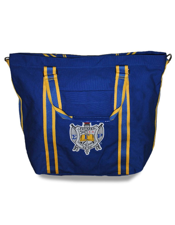 Large Canvas Sorority Tote Bag - Sigma Gamma Rho -Greek_Paraphernalia - M3 Greek