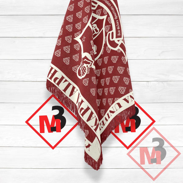 Kappa Alpha Psi Throw Blanket / Afghan -Greek_Paraphernalia - M3 Greek