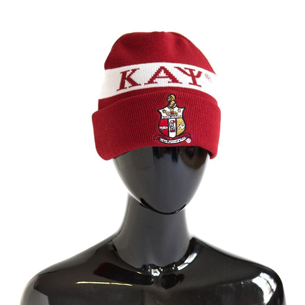 Greek Letter Beanie - Kappa Alpha Psi -Greek_Paraphernalia - M3 Greek
