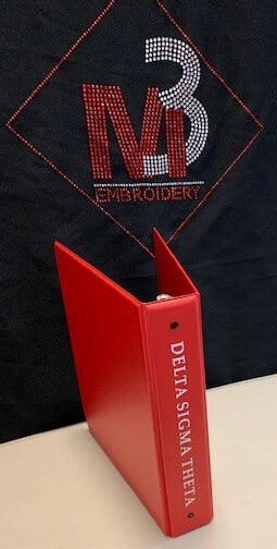 Sorority Binder - Delta Sigma Theta®️ -Greek_Paraphernalia - M3 Greek