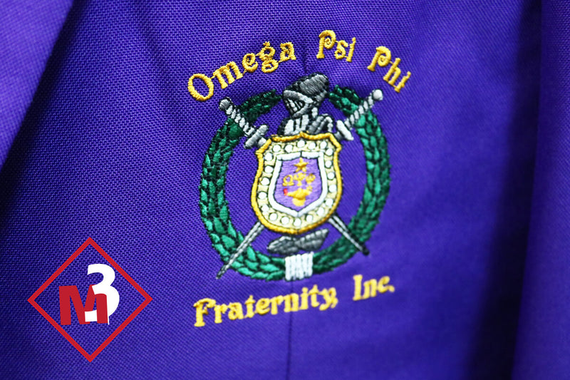 Purple - Omega Psi Phi Fraternity Blazer - M3 Greek