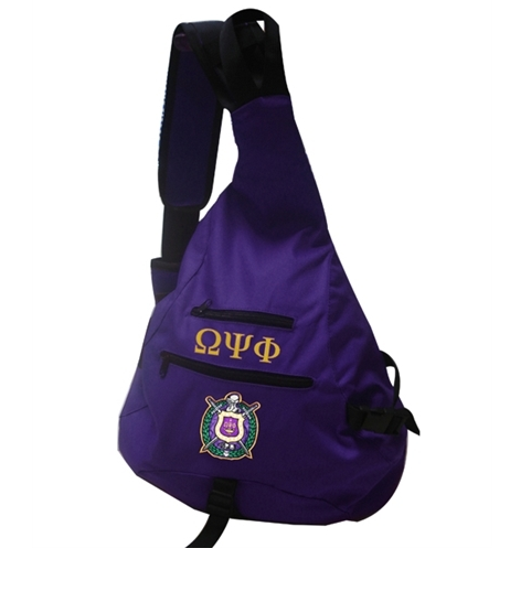 One Strap Bookbag - Omega Psi Phi - M3 Greek
