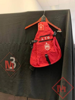 One Strap Bookbag -Delta Sigma Theta -Greek_Paraphernalia - M3 Greek