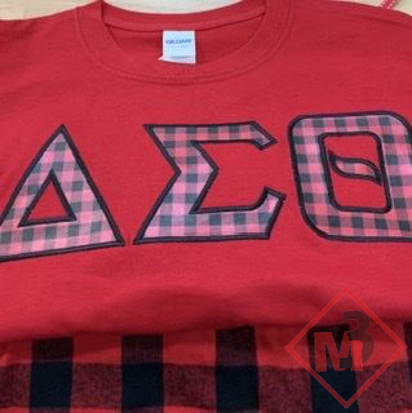 Pajama/Lounge Set - Delta Sigma Theta®️ -Greek_Paraphernalia - M3 Greek