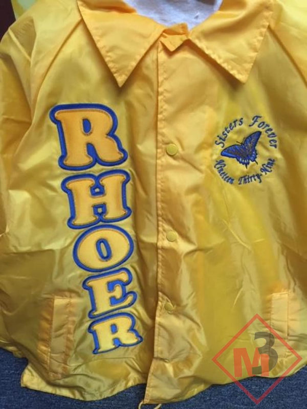 Rhoers Crossing Jacket - Sigma Gamma Rho -Greek_Paraphernalia - M3 Greek
