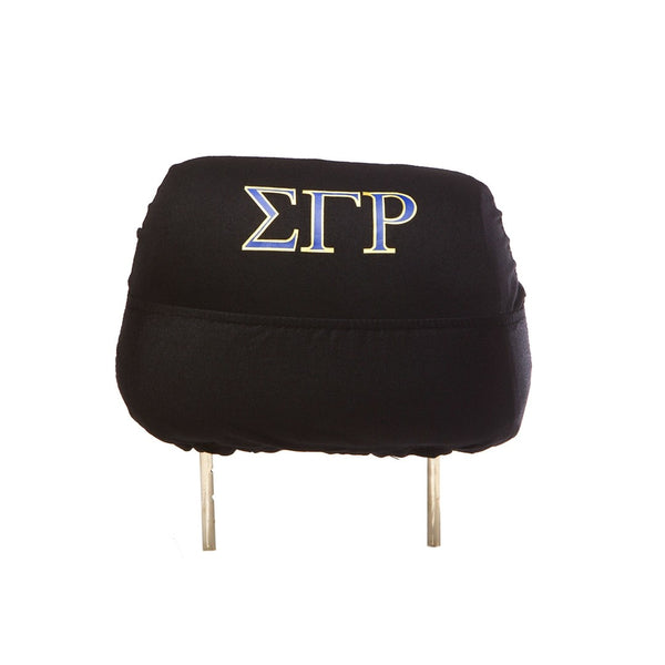 SUV Head Rest Covers - Sigma Gamma Rho -Greek_Paraphernalia - M3 Greek