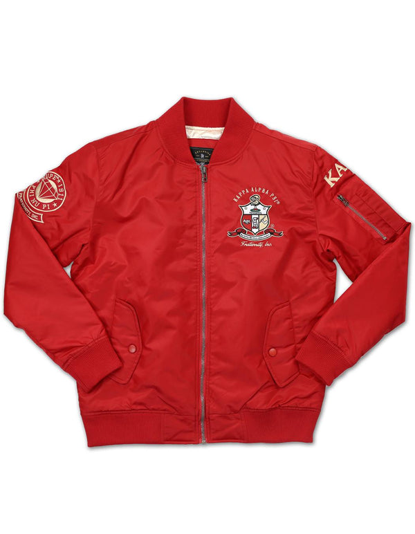 Bomber Jacket - Kappa Alpha Psi -Greek_Paraphernalia - M3 Greek