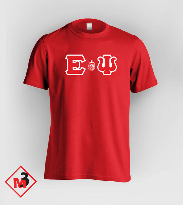 Twill Letter - Where You From Tee - Delta Sigma Theta™ -Greek_Paraphernalia - M3 Greek
