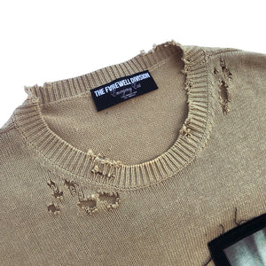 """119"" Patched Sweater"