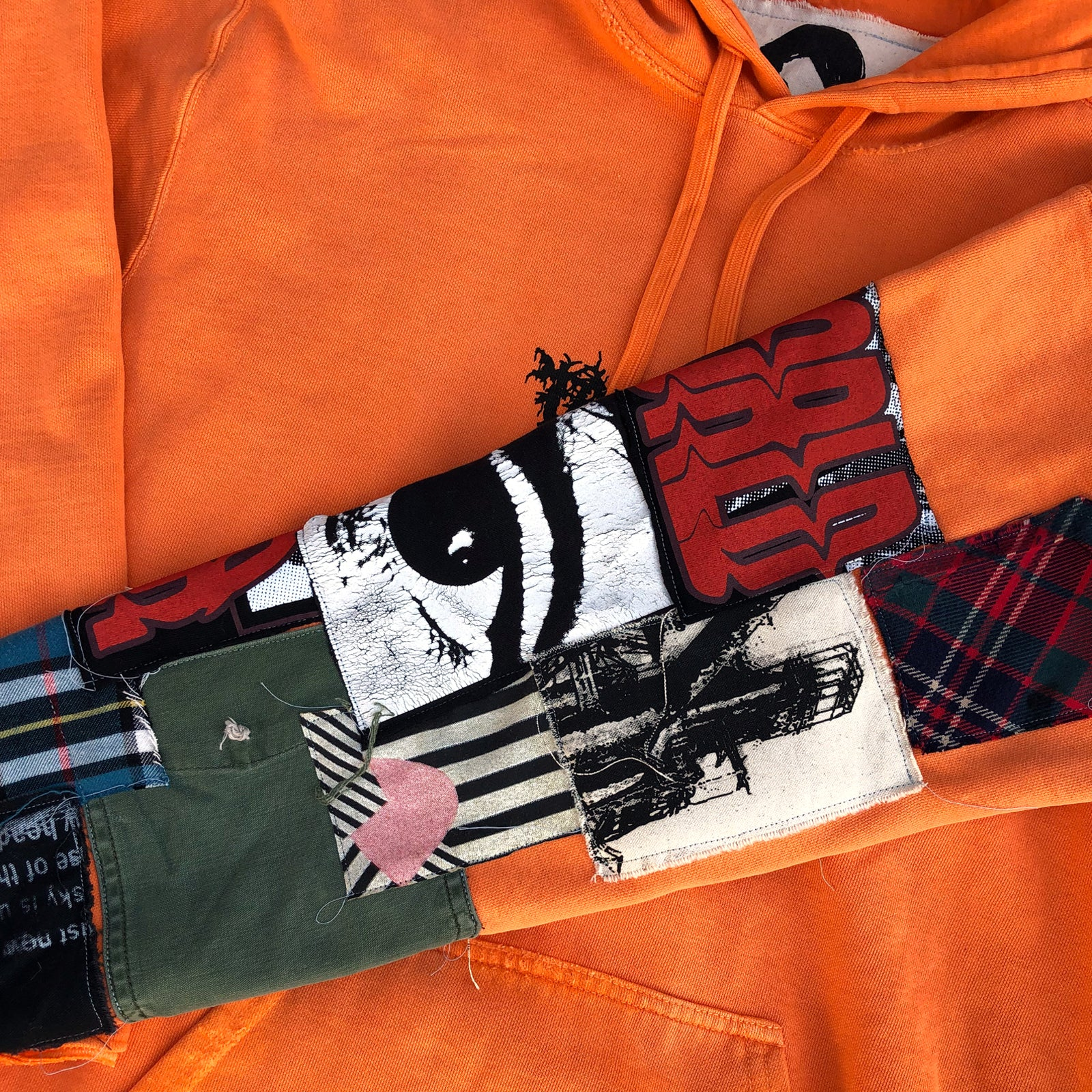 """The 13th"" Patchwork Hoodie"