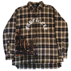 """Rust Never Sleeps"" Oversized Flannel"