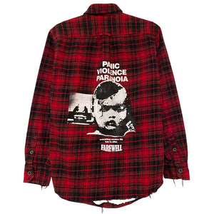 """PVP"" Distressed Vintage Flannel"