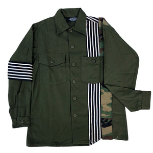 """Roman Candle"" Army Jacket"