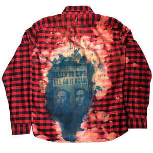 """Victim/Criminal"" Exposure Flannel"
