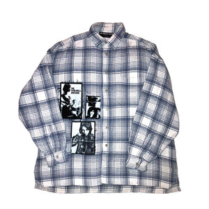 """strip mall"" flannel 1"