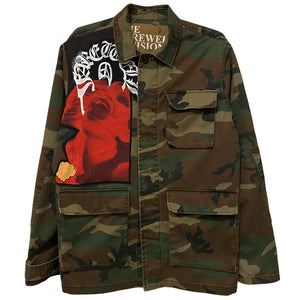 """InColdBlood"" Army Jacket"