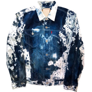 """francis cyano"" denim jacket"