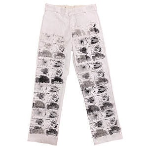 Printed Work Pants