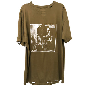 """casualty"" army fatigue tee"
