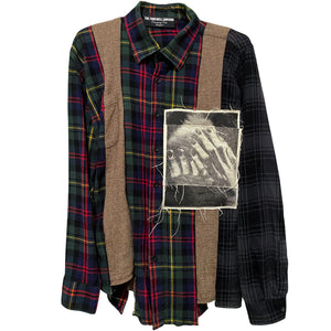"""distraught"" flannel"