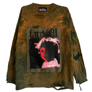 3:31 overdye distressed longsleeve