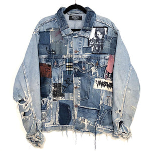 Destroyed Patchwork Jacket
