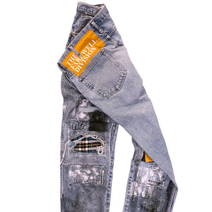 """Russian Roulette With Terry"" Denim"