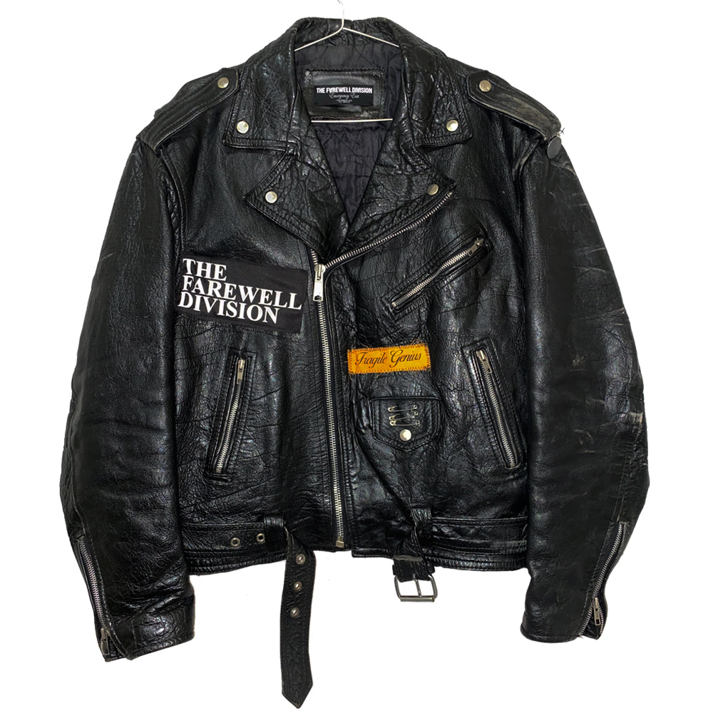 Vintage Leather Rider Jacket