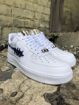 """Gothforce 1"" White"