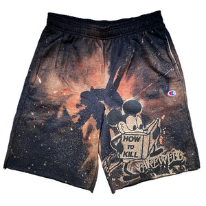 """Counterplot"" Cotton Dyed Shorts"