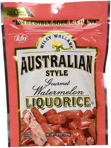 Wiley Wallaby Australian Style Red Licorice