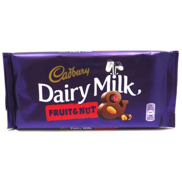 Dairy Milk Fruit and Nut Family