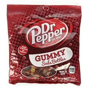 Dr Pepper Gummy Bottles