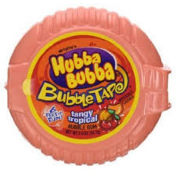 Hubba Bubba Bubbletape Tangy Tropical