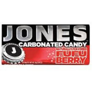 Jones Carbonated Candy FuFu Berry