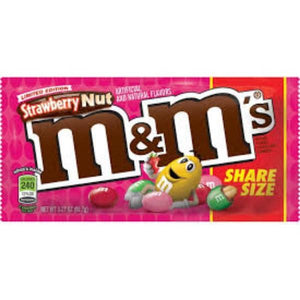 M&M Strawberry Nut Share Size 92.7g