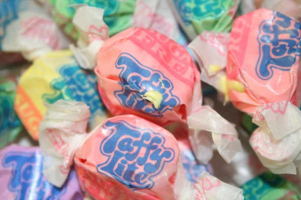 Assorted Sugar Free Saltwater Taffy 100 grams