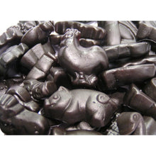 Farm Animals Black Licorice  100 grams