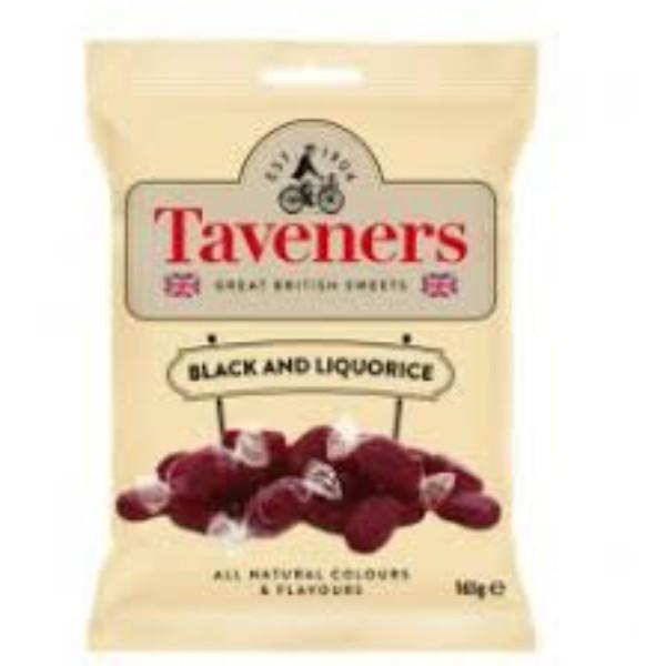 Taveners Black and Liqorice