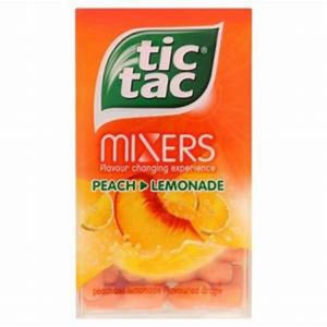 Tic Tac Mixers Peach/Lemonade
