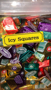 Icy Squares Chocolate $2.69 Bulk Bins/Jars 100g