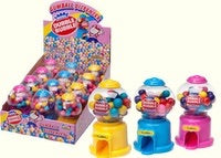 Kidsmania Dubble Bubble Mini Gumball Machine 50 g