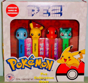 Pez Gift Set Pokemon