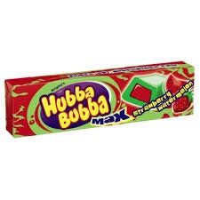 Hubba Bubba Max Strawberry Watermelon Gum