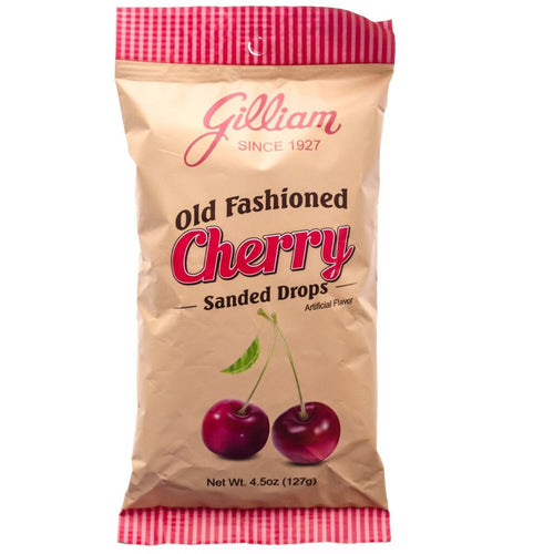Gillian Old Fashioned Cherry Sanded Drops 127g