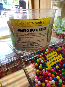 Wax Sticks $0.25 each