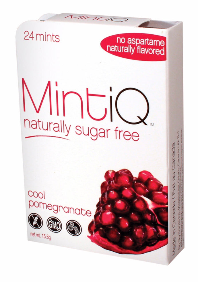 MintiQ Naturally Sugar Free Pomegranate 15g