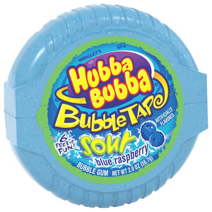Hubba Bubba Sour Blue Raspberry Bubbletape